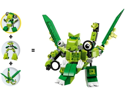 LEGO Mixels: Слушо 41550 — Slusho — Лего Миксели