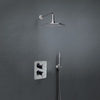 Встраиваемый термостатический смеситель для душа с душевым комплектом ALEXIA K3687011 на 2 выходами - фото №1