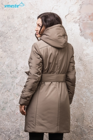 Теплая куртка Беж хаки 3в1 Vmeste