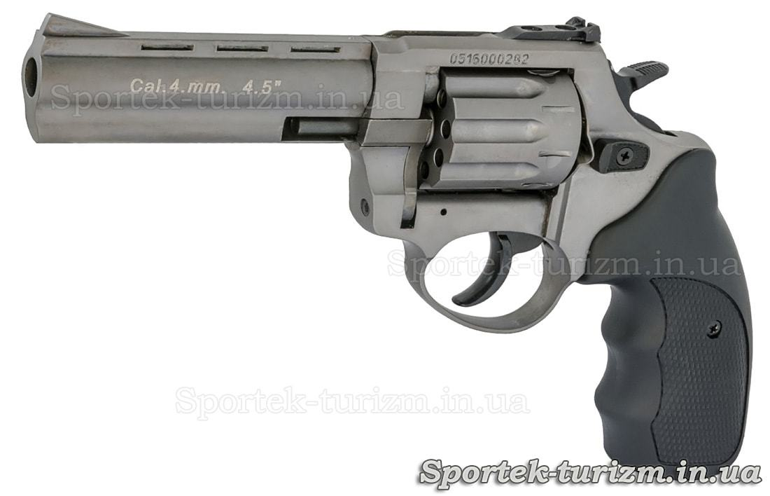 Револьвер Сталкер під патрон Флобера 4 мм сріблястий.