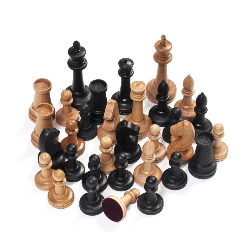 Шахматы Сенеж Турнирные складные, большие