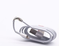 Apple Lightning to USB Cable OD:3.0 TPE 双内膜 精仿144编织 OEM (FA01)MOQ:100