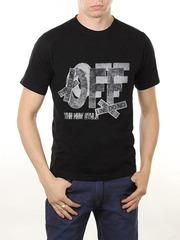 461493-48 футболка мужская, черная