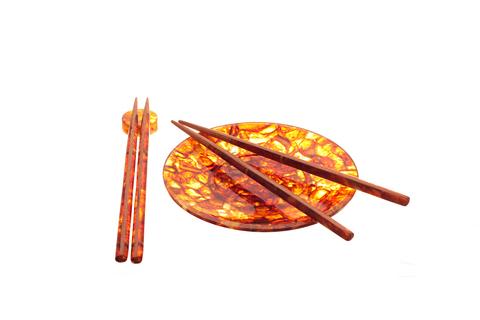 Янтарные палочки для еды