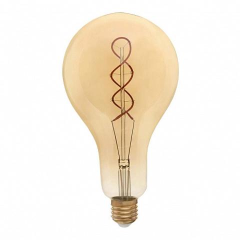 Светодиодная ретро лампа G160 Spiral LED 8W E27 2200K