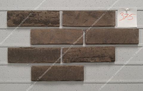 Stroeher - 375 platingrau, Steinlinge, состаренная поверхность, ручная формовка, 240x71x14 - Клинкерная плитка для фасада и внутренней отделки