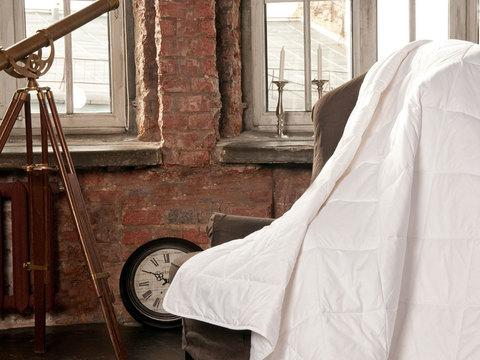 Одеяло стеганное всесезонное 150x200 «Cotton Wash Grass»