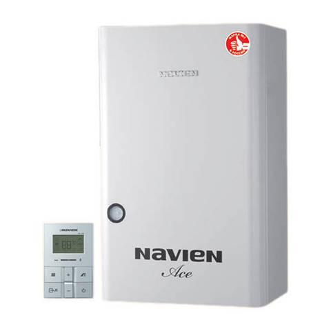 Котел газовый настенный Navien Atmo Ace - 20 кВт (двухконтурный, открытая камера)