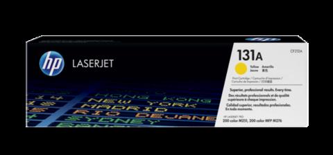 Оригинальный картридж HP CF212A (№131A), жёлтый