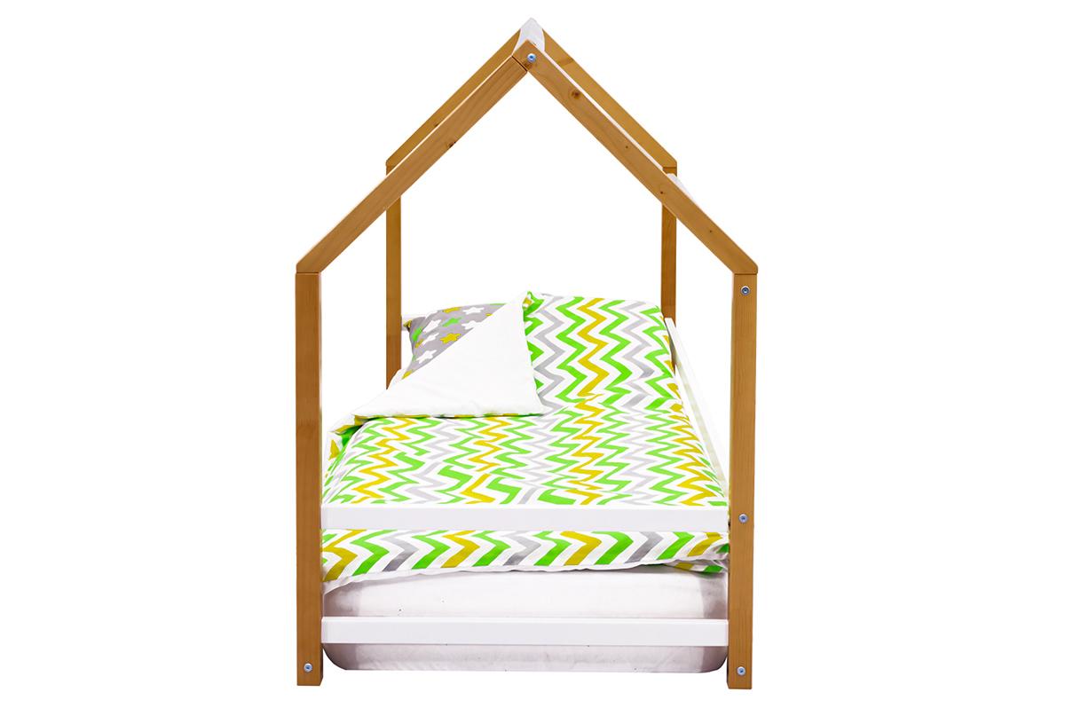 Кровать-домик Монтессори «Svogen» дерево-белый