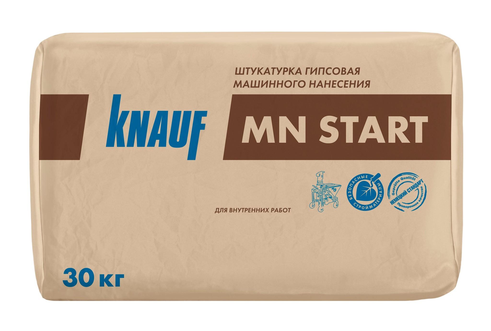 Штукатурки Гипсовая штукатурка Knauf МН Старт для машинного нанесения, 30 кг 682b100ae79048b487a9fd5da2e4e12b.jpg