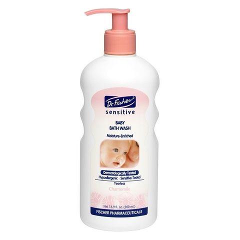 Крем-гель для мытья младенцев «Сенситив» Dr.Fischer, 500 мл