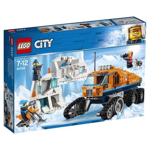 LEGO City: Арктическая экспедиция: Грузовик ледовой разведки 60194 — Arctic Scout Truck — Лего Сити Город