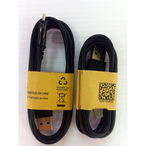 Cable for Samsung Galaxy S4 Black OD:3.4 PVC 28铜 1M OEM MOQ:1000