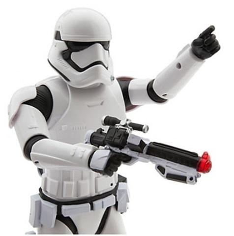 Звездные войны фигурка говорящий Штурмовик — Star Wars The Force Awakens Talking First Order Stormtrooper