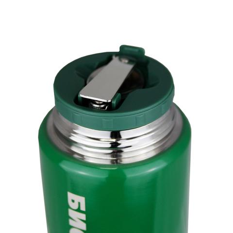 Термос для еды Biostal Охота (0,75 литра), с ложкой, зеленый