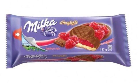Бисквиты Milka Choco Jaffa Raspberry 147 гр