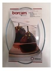 Овальная форма для запекания 2,3 литра Borcam 59064 форма для выпечки жаропрочная стеклянная 30,6х21,6х6 см 1/2 коробка