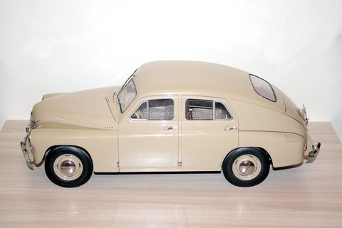 GAZ-M20 Pobeda (M-20 Victory) 1:8 DeAgostini not completely assembled
