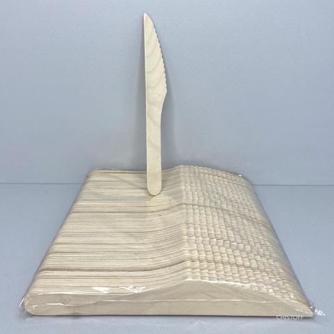 Ножи деревянные (100 шт.)