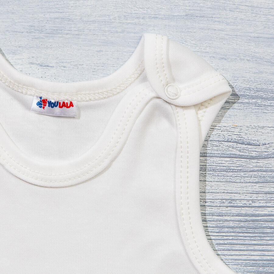 Маечка на кнопках для новорожденных