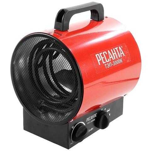 Тепловая электрическая пушка РЕСАНТА ТЭП-3000К (круглая)