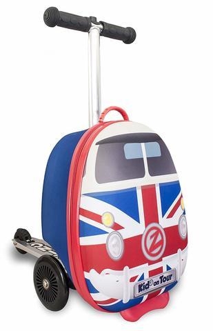 Самокат-чемодан Zinc Union Jack Journeys 15