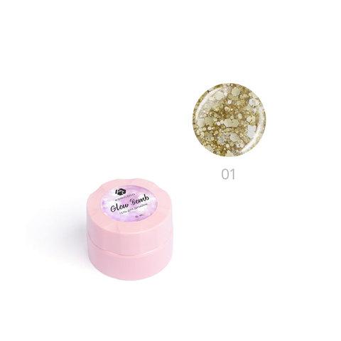 Гель для дизайна ногтей ADRICOCO Glow Bomb №01