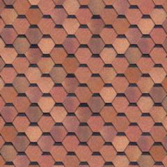 Шинглас Классик Кадриль красно-коричневая (уп/3м2)