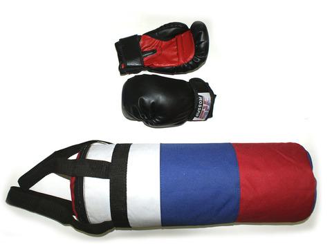 Набор боксерский детский (груша цилиндр, перчатки):3