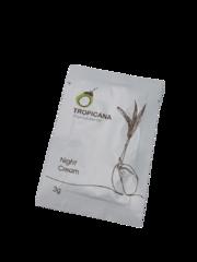 Tropicana - Крем ночной на основе кокосового масла, 3 г.