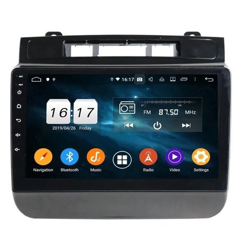 Магнитола для VW TOUAREG (2011+) Android 10 4/32GB IPS DSP модель KD-9149-PX5