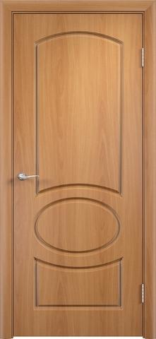 Дверь Верда Неаполь, цвет миланский орех, глухая