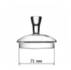 Стеклянная крышка для чайника 71 мм #2
