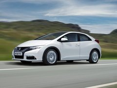Чехлы на Honda Civic хэтчбек 2012–2017 г.в.