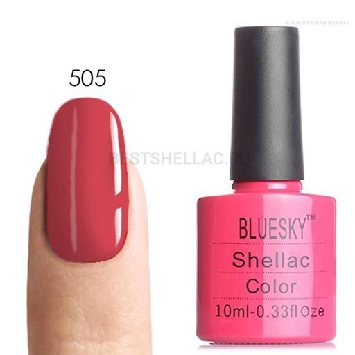 Bluesky Shellac 40501/80501 Гель-лак Bluesky № 40505/80505 Tropix, 10 мл 505.jpg