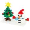 Nanoblock сніговик і ялинка