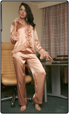 Пижама шелковая (Charoi) Италия
