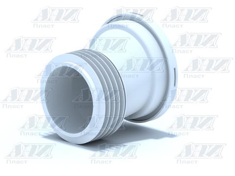 Манжета унитазная жесткая эксц 20 мм W0220