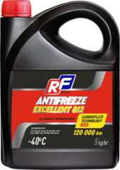 17359N RUSEFF Антифриз ANTIFREEZE EXCELLENT G12 40 (5кг)