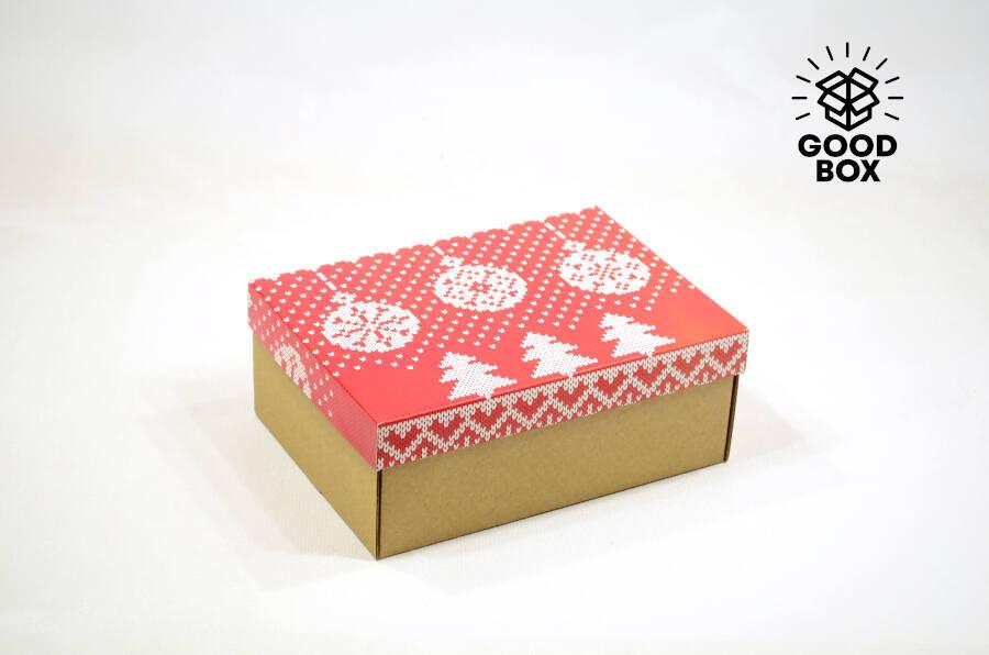Недорогие Новогодние коробки с доставкой по Алматы