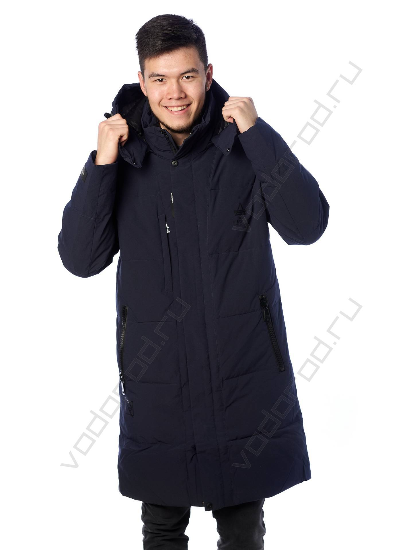 Куртка зимняя SHARK FORCE 21502 (темно-синяя)