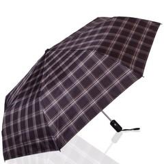 Зонт мужской в клетку ТРИ СЛОНА 907-7