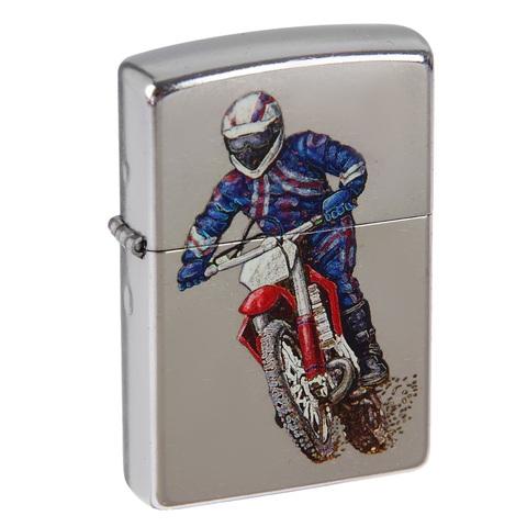 Зажигалка Zippo 207 Dirt Bike 2 с мотоциклом
