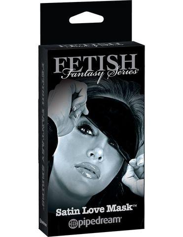 Эротическая маска на глаза Satin Love Mask - Pipedream Fetish Fantasy Limited Edition PD4405-23