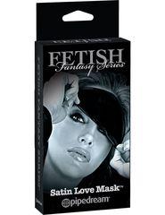 Эротическая маска на глаза Satin Love Mask -