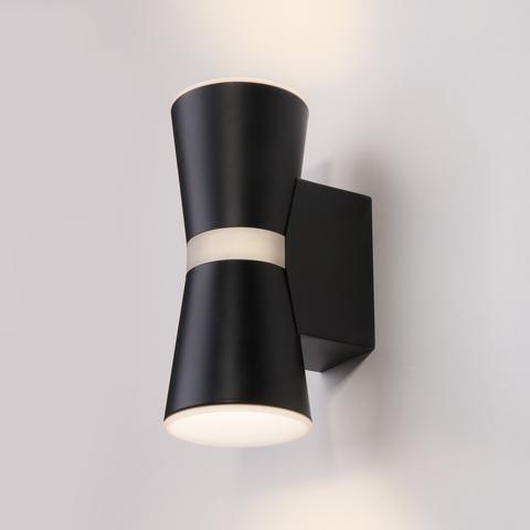 Viare LED черный настенный светодиодный светильник MRL LED 1003