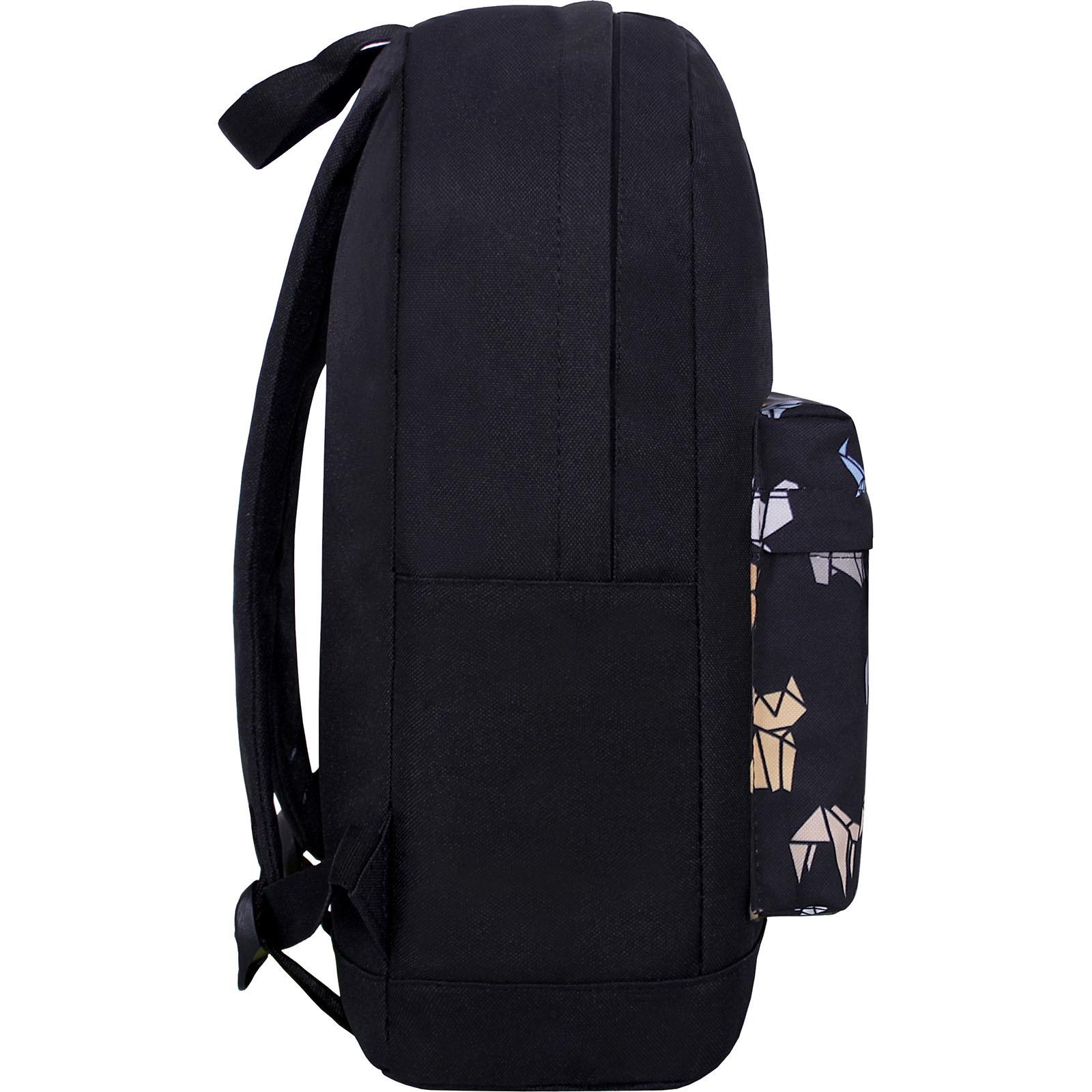 Рюкзак Bagland Молодежный W/R 17 л. Чёрный 752 (00533662) фото 2