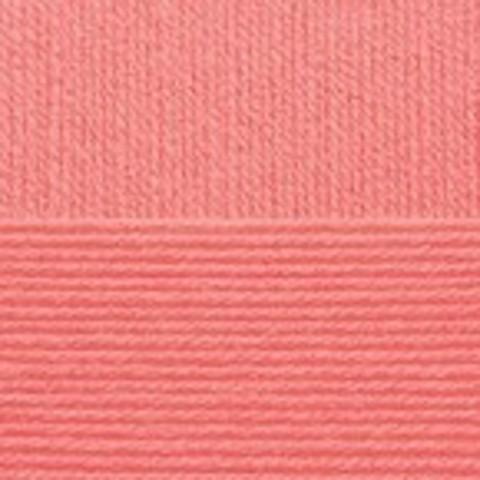 Купить Пряжа Пехорка Детская новинка Код цвета 351-Св.коралл | Интернет-магазин пряжи «Пряха»