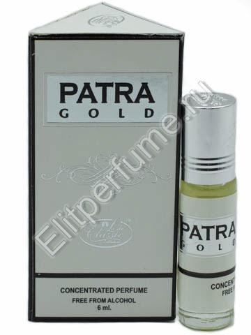 Lady Classic 6 мл Patra Gold масляные духи из Арабских Эмиратов